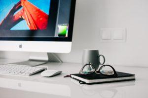 Varidesk and adjustable desk setup