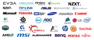 PC Gaming Brands